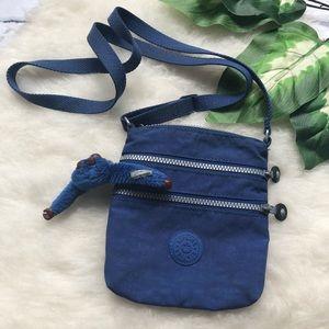 Kipling Blue Small Crossbody Bag